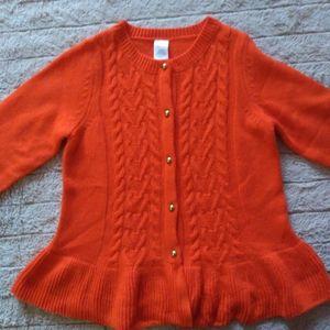 Beautiful orange sweater